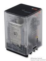 Power Relay, 3PDT, 120 VAC, 10 A, 750 Series, Socket