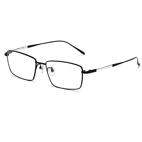 Gafas De Lectura De Titanio Puro Con Luz Azul Bloqueo Anti Radiación Lente Ligero Presbicia Ligero Eyewear Óptico Para Mujeres Y Hombres