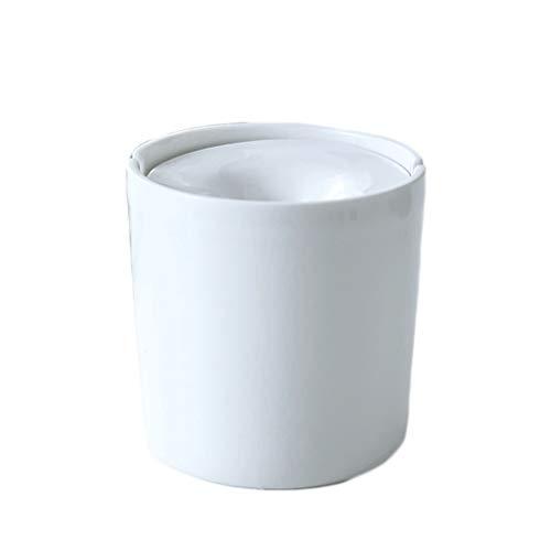 Cenicero de cigarrillos con cenicero a prueba de viento Cenicero de cerámica para fumadores Titular de la bandeja de ceniza moderna para el patio de la oficina de la mesa del automóvil y la decoración