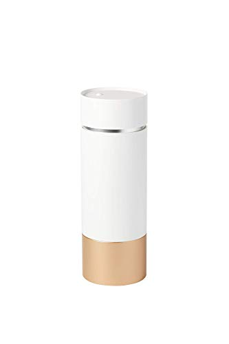 Brushean Makeup Brushes UV Sanitizer (Standard, White/Rose Gold)