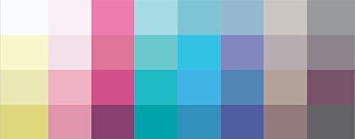 Großer Farbpass Sommertyp 32 Farben Sommertyp, Farbkarte, Sommerfarben Sommertyp,kalter Farbtyp, Farbfächer, Farbberatung, Typberatung, Farbkarten, Farbpalette