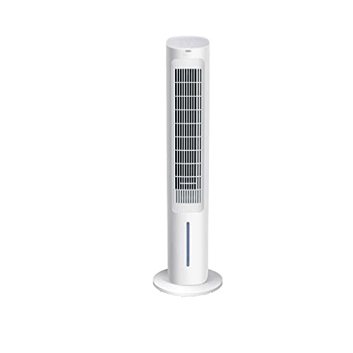 SHENRQIA Evaporative Cooler -3-In-1 Bladeless Tower fan W/Cooling Function, 1 Gallon Water Tank, 20-ft Remote, 7H Timer, 80° Shaking Head,air Conditioner Fan for Home Office Dorm Outdoor, 40-Inch