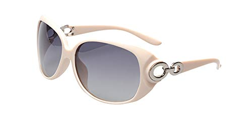 KINLOU Mujer Gafas de sol Polarizadas - Gafas Extra Grandes de Protección 100% UV400 de Moda