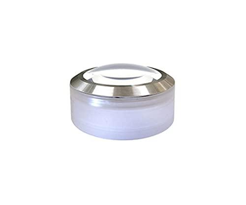 クリアー光学 LEDライト付置き型ルーペ デスクルーペ 5倍 70mm P-58LED