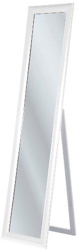 Kare Standspiegel Modern Living White 170x40, Weiß, 4 x 40 x 170