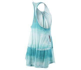 Nike Dri-fit Knit Running Dress Skirt Tie Dye Reflective (Large)