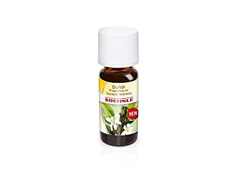 Soehnle Parfümöl Feine Vanille, Ätherische Öle für die Verwendung im Aroma Diffuser, Duftöl für die Raumbeduftung, Aroma Öl mit lieblichem, beruhigenden Duft, 10 ml