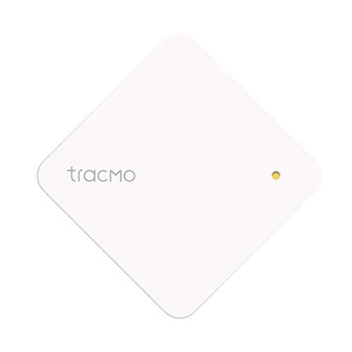 tracMo Leaf 独自のクラウド技術を使用した次世代落とし物/盗難防止タグ スマホを見つける 動いたらお報せ スマートホーム連携機能あり