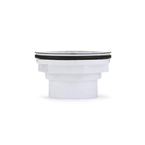 Oatey 42097 Shower Drain, 2-Inch, White