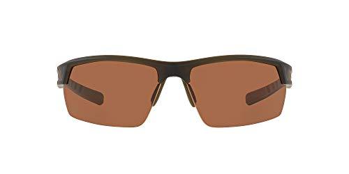 Native Eyewear unisex adult Catamount Sunglasses, Matte Black/Brown, 64 mm US