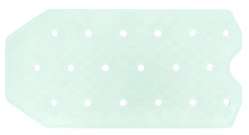 Lashuma Sissi Grote badmat 72 x 36 cm, rubberen badmat in 10 kleuren, antislip badmat met zuignappen
