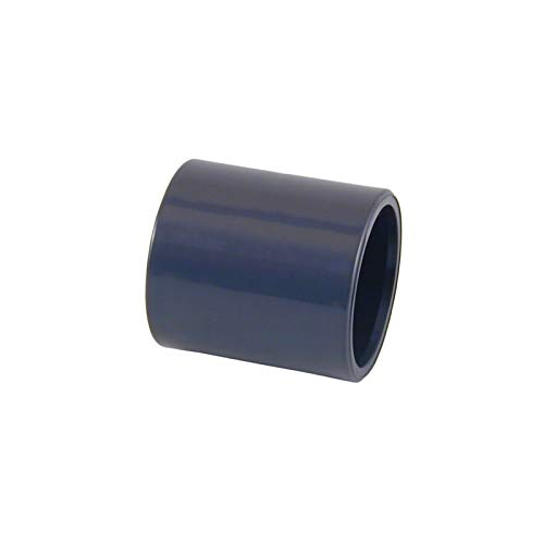 Manguito unión PVC encolar - D. 40 mm. - 01875
