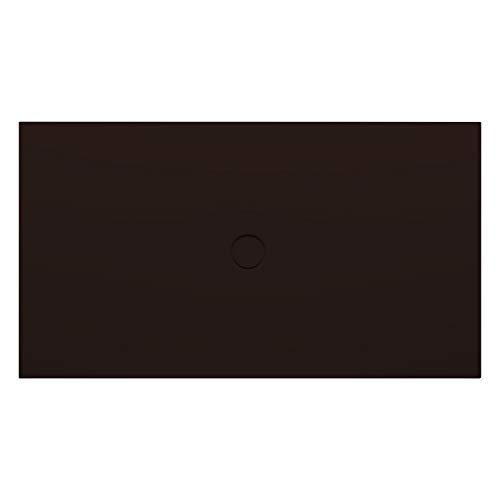 Bette Vloer douchebak met glazePlus 5851, 140x100cm, Kleur: Raven - 5851-400PLUS