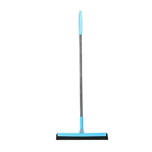 SGLMYD Squeegee vloerwisser Harde vloer Reiniging Professiona RVS Extra-Wide Floor Squeegee Squeegee Rubber Multipurpose Met Metallic Pole