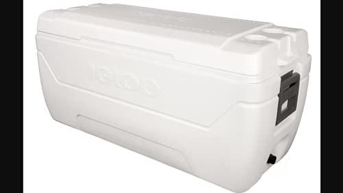IGLOO - 150-QT QUICK & COOL MARINE WHITE ICE CHEST 180 - 385-44363