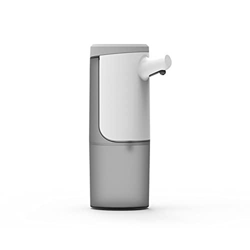 Pank Dispensador automático de jabón, 7,9 * 4.2 * 2.8in, Bomba de jabón de Gran Capacidad Libre de Contacto ABS, Carga Ajustable, baño/Cocina Alta Capacidad (Color : White, tamaño : Foam)