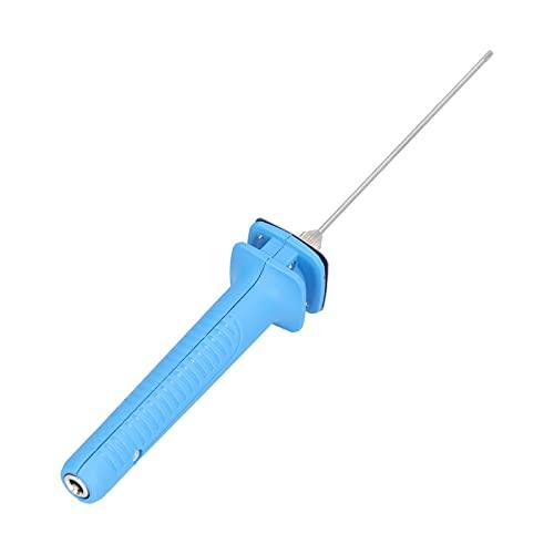 Bolígrafo de corte eléctrico, tablero de espuma de acero inoxidable, cortador de grabado de fusión en caliente para excavación de algodón perlado, AC100-240V con adaptador(EU Plug)