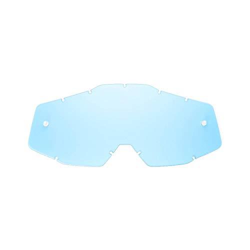 SeeCle SE-41S239-HZ lentes de repuesto para máscaras azul compatible para màscara 100% Racecraft/Strata/Accuri/Mercury