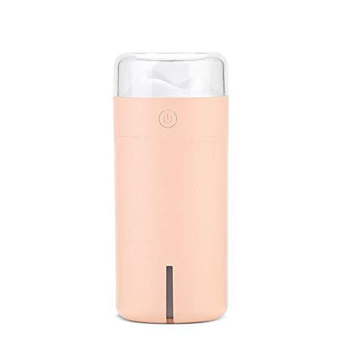 raumbefeuchter kinderzimmer - Mini bunte leichte Luft feuchtigkeitsspendende stumme Luftbefeuchter-Rosa
