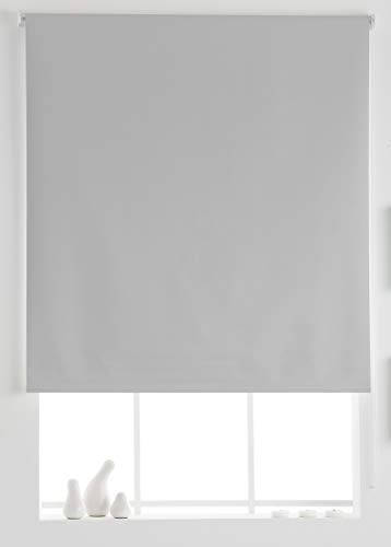 Estoralis Dracarys Estor Enrollable Opaco Black out Liso, Crudo, 130 x 230 cm