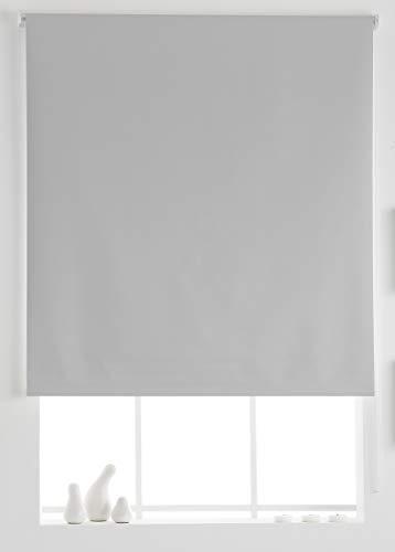 Estoralis Aral Estor Enrollable Liso, Blanco, 110x175 cm