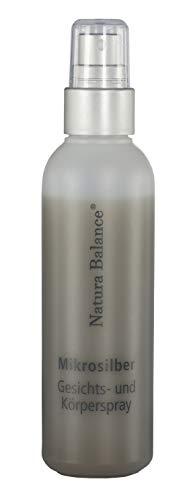 Microsilber Gesichts- und Körperspray 100 ml Spray Microsilver Mikrosilber Silberspray BG Aftersun Sonnenbrand
