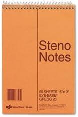 Ranking TOP10 6 Pack Value Bundle RED36646 Gregg Standard Book Steno 5 ☆ popular Spiral