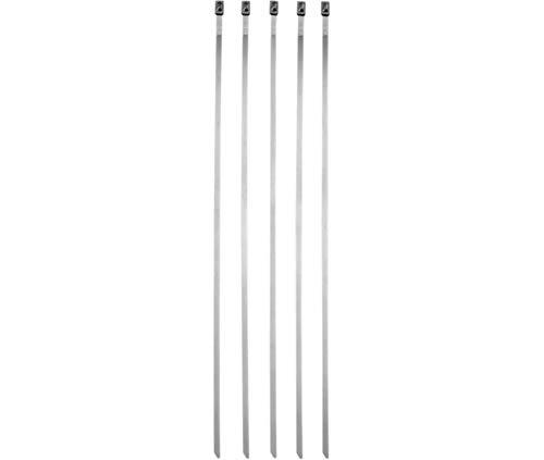 Compatible avec/Remplacement pour KIT 5 COLLIERS 20.5 cm ECHAPPEMENT MOSSE RACING- 2120-0144