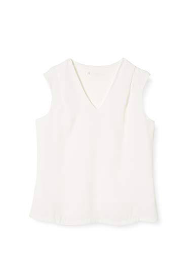Mexx Damen Bluse, Weiß (Blanc De Blanc 114800), (Herstellergröße: 34)