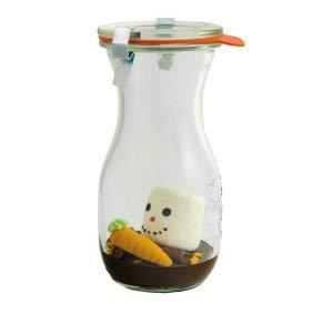 Heißer Schneemann im Weckglas zum aufgießen mit Milch I Geschenkidee