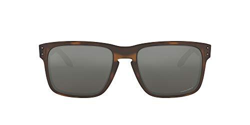Oakley Holbrook 9102f4 Gafas de sol, Matte Brown Tortoise, 57 para Hombre