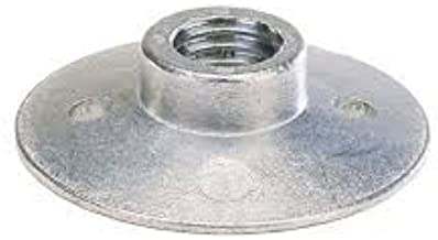 Metal Angle Grinder Attachment/Clamping Nut for 4 inch and 5 inch Sander Paper Backing Pad (Silver)
