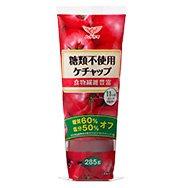 無塩ドットコム ケチャップ 糖質60%オフ 糖類不使用 添加物不使用 ハグルマ 285g×2本セット
