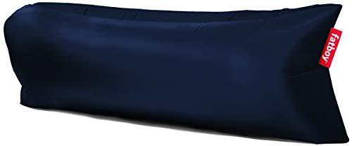 Fatboy® Lamzac The Original 2.0 dunkelblau | Aufblasbares Sofa/Liege, Sitzsack mit Luft gefüllt | Outdoor geeignet | 185 x 83 x 50 cm