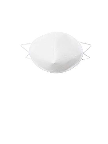 Oderso Unisex Mund-Nasen-Maske 10er Pack weiß One Size