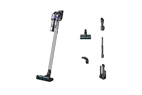 SAMSUNG - VS20T7533T4ET Aspirador de escoba sin cable con prestaciones de 200W   60 Min, filtro HEPA de 5 capas, base de carga 2 en 1 y cepillo, Color Violeta