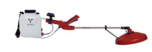 Pulmic Pulverizador Eléctrico Fenix 35 con Batería Litio. Plegable. Pilas o Batería 3000mAh.Sulfatadora Eléctrica 5L. Autonomía hasta 10h.37cmø