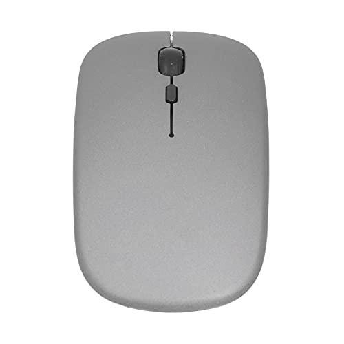 Folany Ratón para Computadora Portátil, Mini Receptor Inteligente Diseño Ergonómico Ratón Inalámbrico con Conector 2.4G para PC De Escritorio para Computadora Portátil