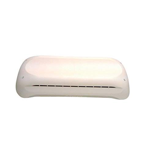 DOMETIC 3312695.004 Refrigerator Vent Cap Only for Complete Vent Kit - Polar White