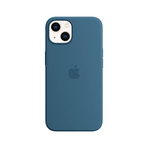 Apple Silicone Case with MagSafe (for iPhone 13) - Blue Jay