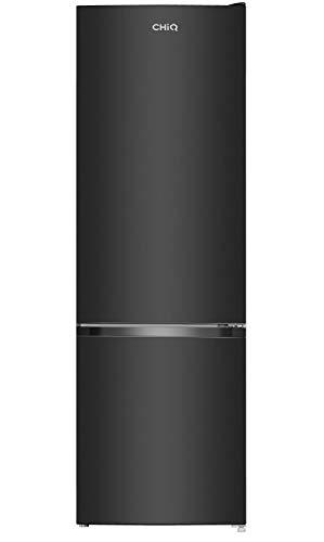 CHiQ FBM260L - Frigorífico combi 260L (187L + 73L congelador), Low frost, Color Negro, Puertas...