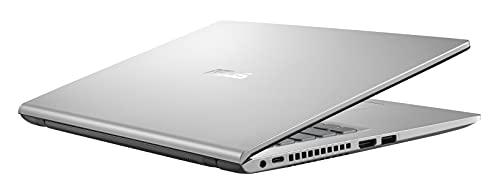 ASUS F415MA-BV275T - Portátil 14' HD (Celeron N4020, 4GB RAM, 256GB SSD, UHD Graphics 600, Windows 10 Home) Plata Transparente - Teclado QWERTY español