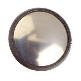 Cache trou antenne chrome 28mm ADNAuto