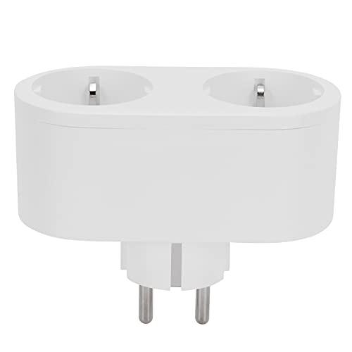 Toma de corriente inteligente de enchufe WiFi de 16 A con interruptor de sincronización de control de voz UE para el hogar 100-250 V
