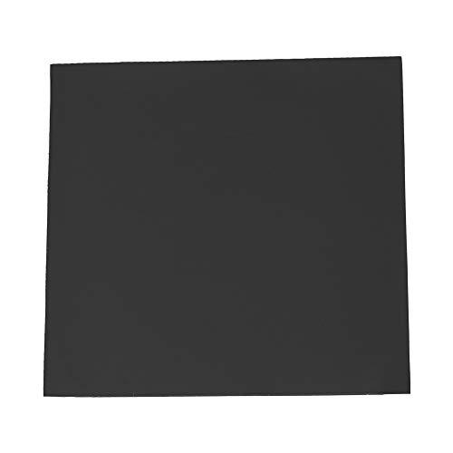 Broco CPU-koellichaam, 100 x 100 x 2 mm, voor het koelen van de kussens van siliconen, 黒
