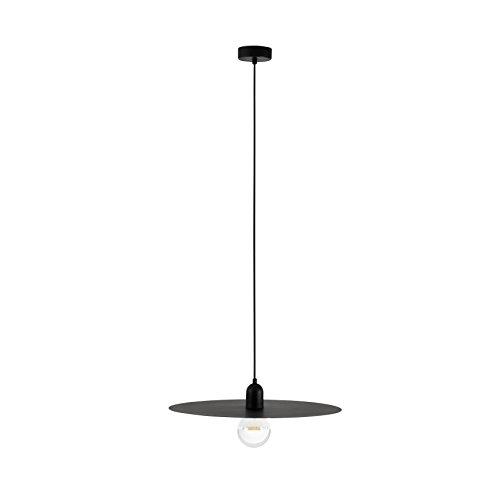 Faro Barcelona 68145 – Plat Pendentif Noir E27 60 W