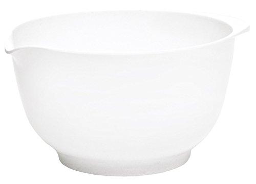 Rosti Mepal Margrethe Bol de préparation (cul de poule) mélamine système anti-dérapant 500 ml Blanc