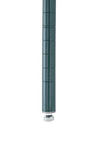 Metro Super Erecta SiteSelect Stationary Shelving Post, Metroseal 3 Epoxy, 14.375' Height (Pack of 4)