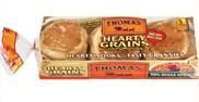 Thomas Hearty Grains English Muffins