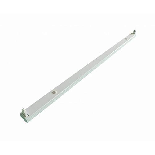 T8/G13 Fassung für LED-röhre - LED-leuchtstoffröhrenlampe - Einzel Fassung - Alu Halterung - Aluminium - 150cm - 230V